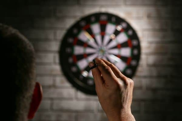 How to Throw a Dart with Precision