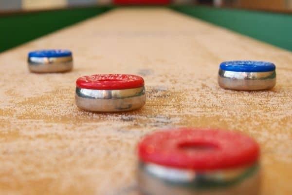 Shuffleboard Table Games Rules